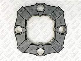 Эластичное соединение (демпфер) для колесный экскаватор JCB JS145W (333/J4624, 331/25063, 331/25063)