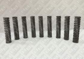 Комплект пружинок (9шт.) для гусеничный экскаватор JCB JS210 (LSP0109)